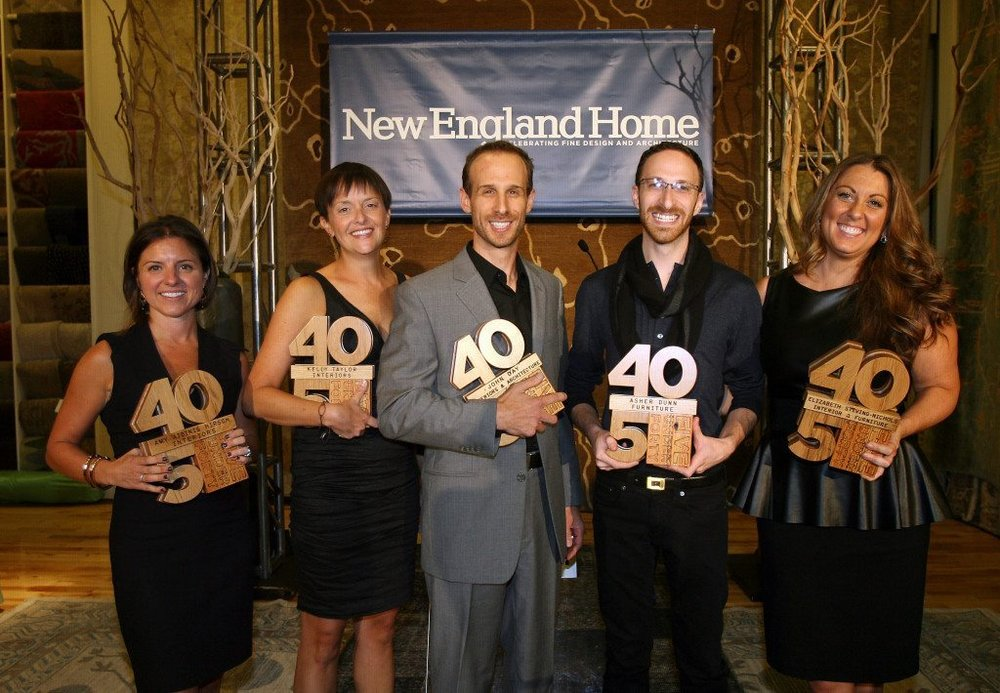 "New England Home Magazine's  ""5 Under 40"" Award"