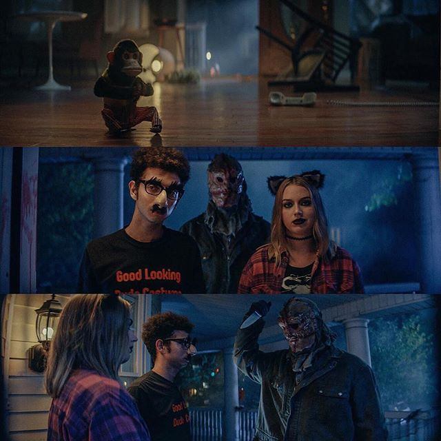 REESE'S // Commercial 2018 Had a so much fun pulling inspiration from John Carpenter and Wes Craven for this Halloween @reeses commercial! Director @_crobin  Producer @lennyjee  PD @vox_pop  Gaffer @schmubbard  Key G @kenneth.jpeg  Steadi Stew Cantrell 1st AC @aaronmsnow • • • #panavision #gseries #anamorphic #arri #alexa #photooftheday #cinematography #dp #dop #filmlife #setlife #art #film @partoscompany @panavisionofficial @marni.z