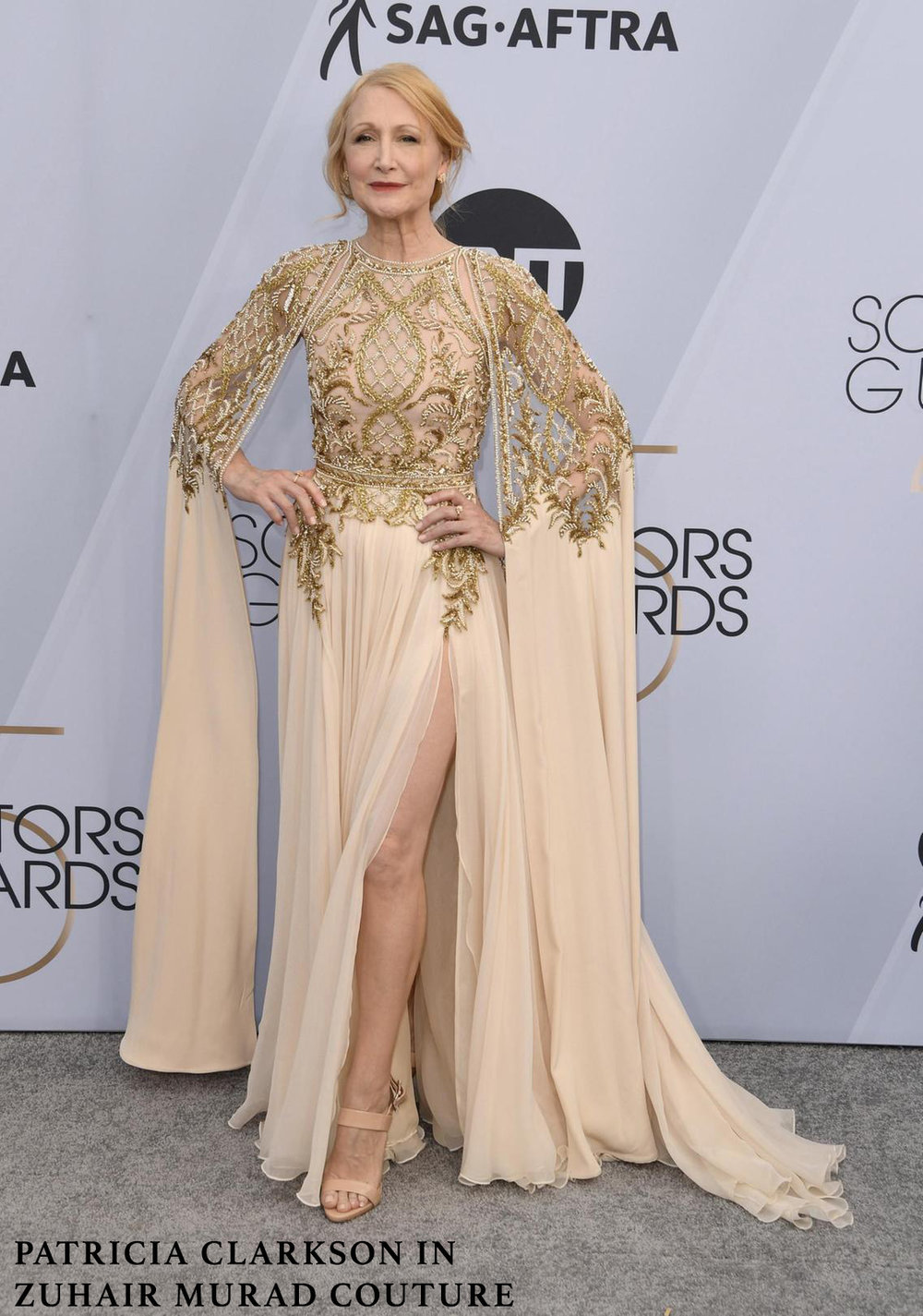 Patricia Clarkson in Zuhair Murad Couture- Gold & Nude-1.jpg