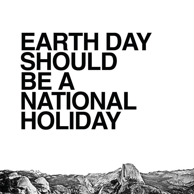 Join us by signing the #EarthDayPetition for Earth Day to be a national holiday! 🌱 Link in bio.