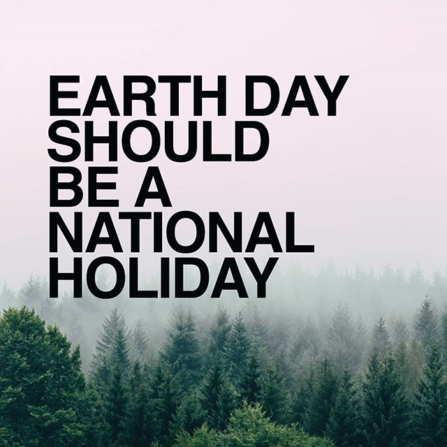 Happy Earth Day! #🌎 ... Join us by signing the #EarthDayPetition for Earth Day to be a national holiday! 🌱 Link in bio.