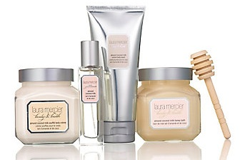 Laura Mercier Bath & Body Collection in Creme Brulee - image from LauraMercier.com