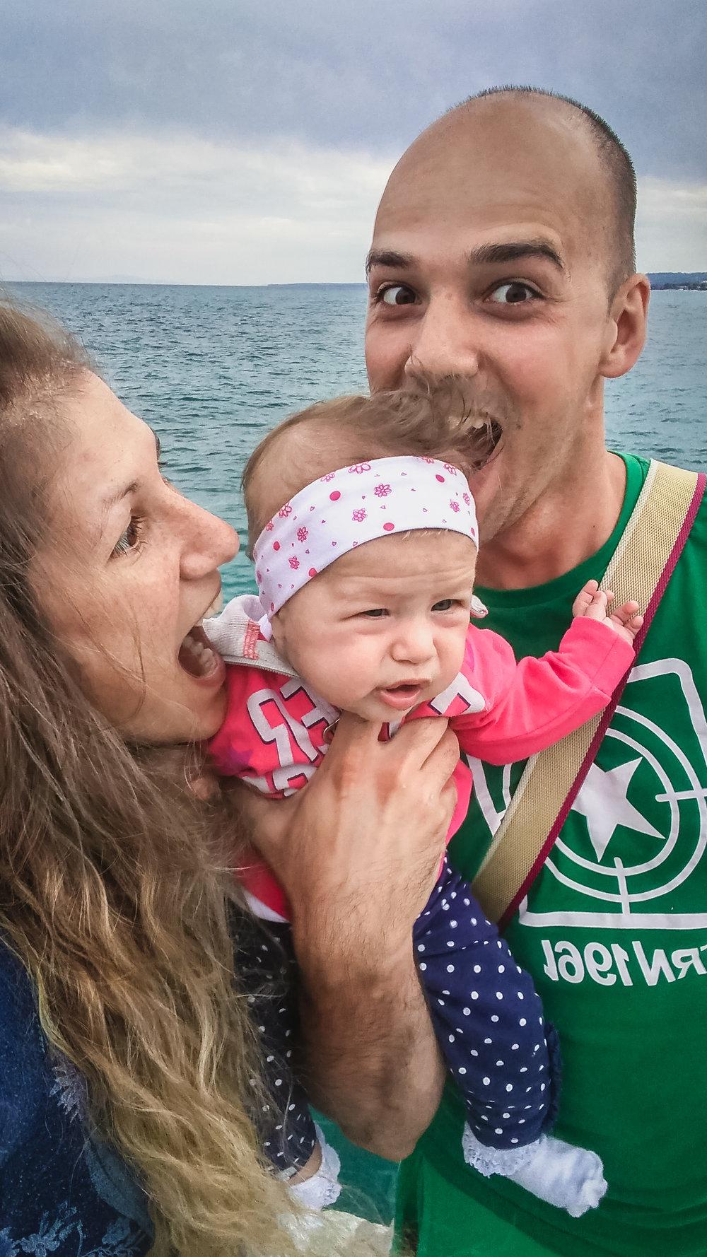beba na moru