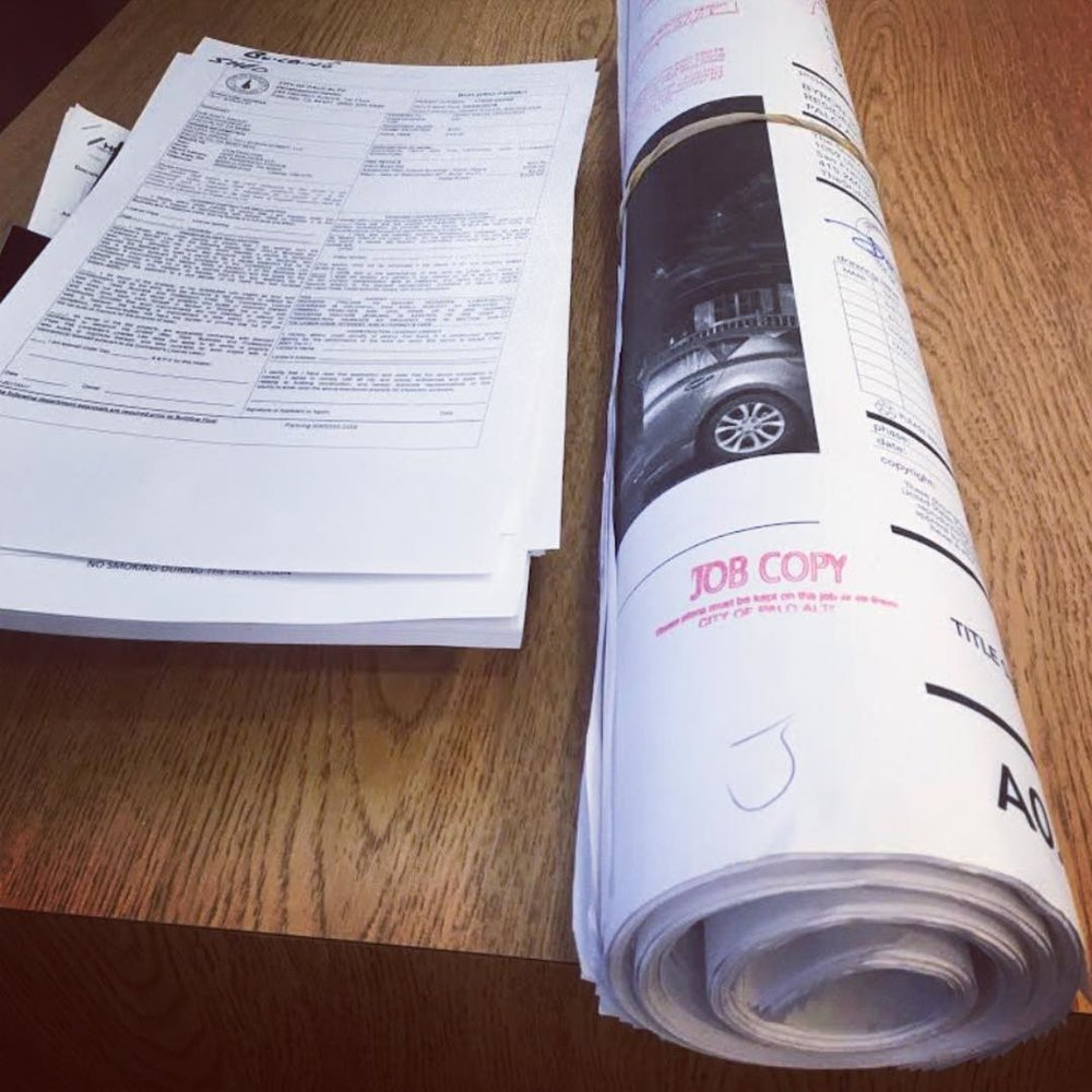 Permits Permits Permits. At the end of the day what we really do is create big books of drawings to get permits.