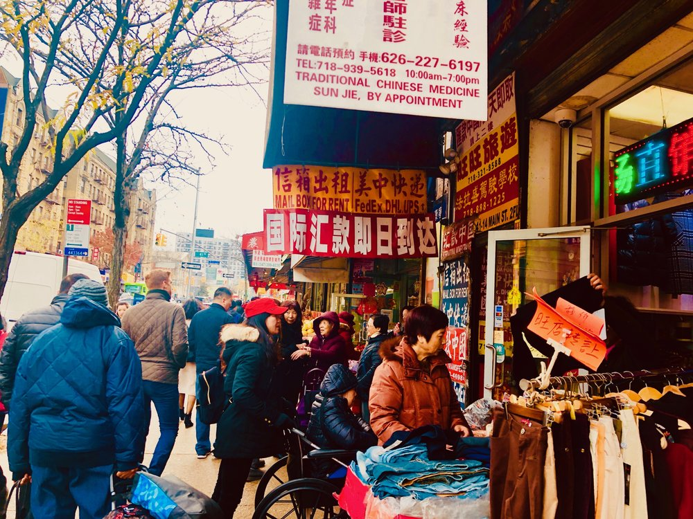 Main Street, Flushing, Queens.
