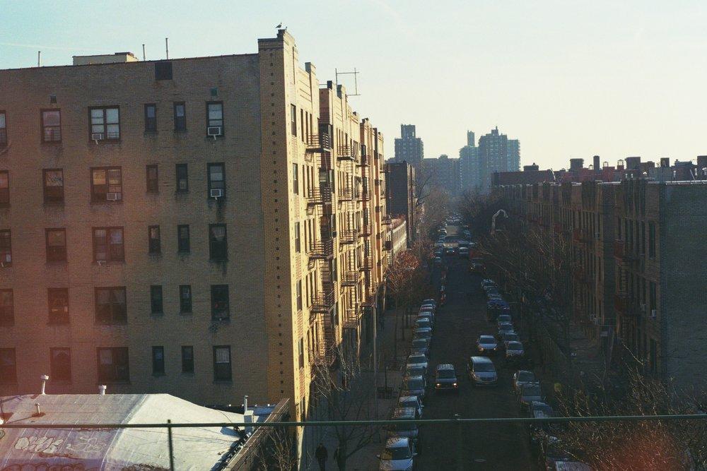 Somewhere deep in the Bronx.  Kodak Ultra Max 400. Pentax K1000. Fletcher Berryman 2019.