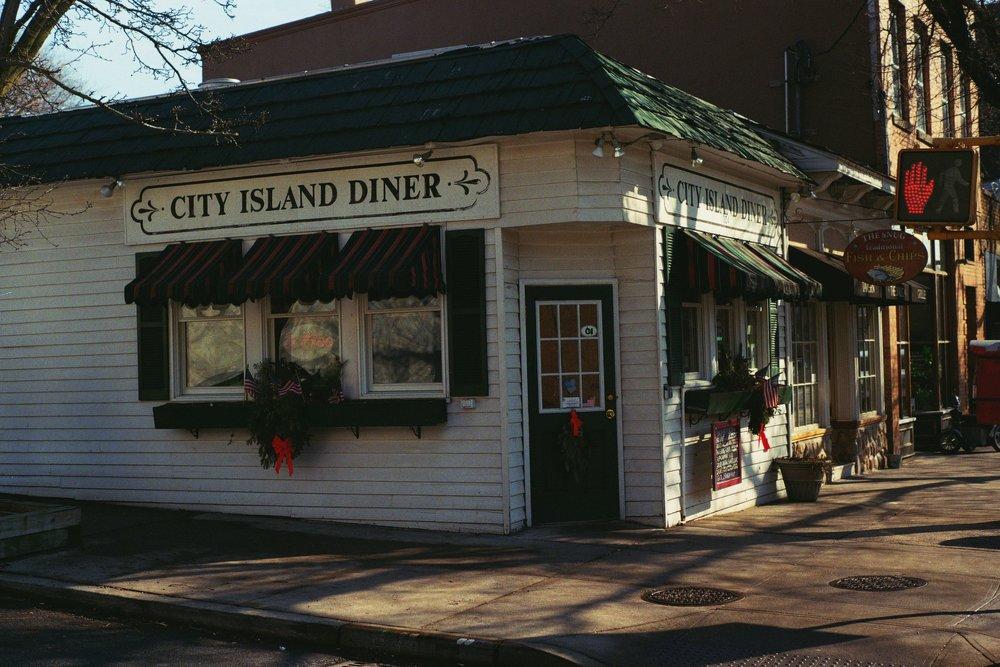 City Island Diner.  Kodak Ultra Max 400. Pentax K1000. Fletcher Berryman 2019.
