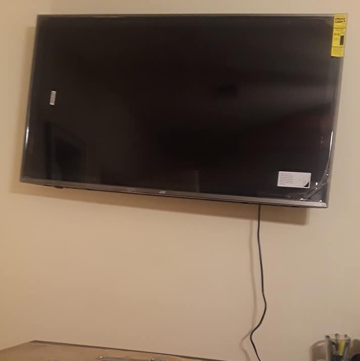 """I set out to mount a 49"""" television on my wall. No one would mistake it for a success."""