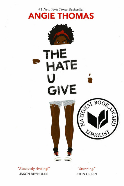 """The Hate U Give,"" by Angie Thomas [Photo: Vernon Barford School on Flickr]"