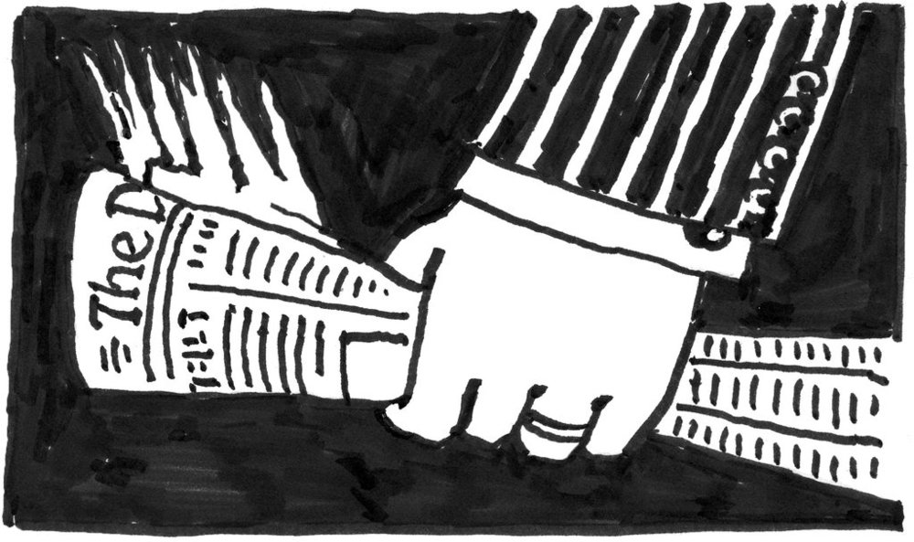 [Illustration: Seymour Chwast / NYT]