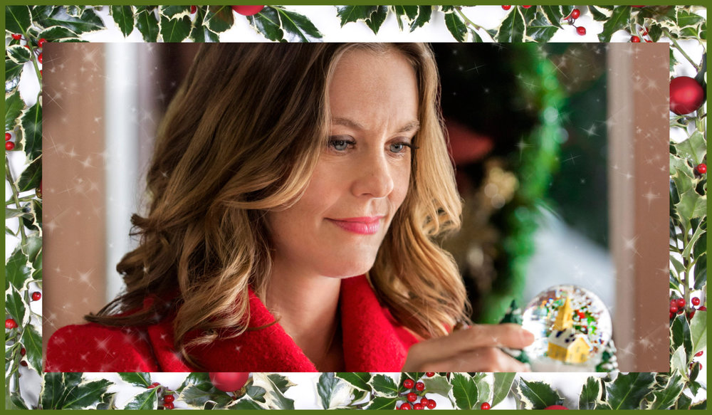 Still from Christmas in Evergreen.  [Front Street Pictures / The Hallmark Channel / Getty Images / Composite by Katie Kosma]