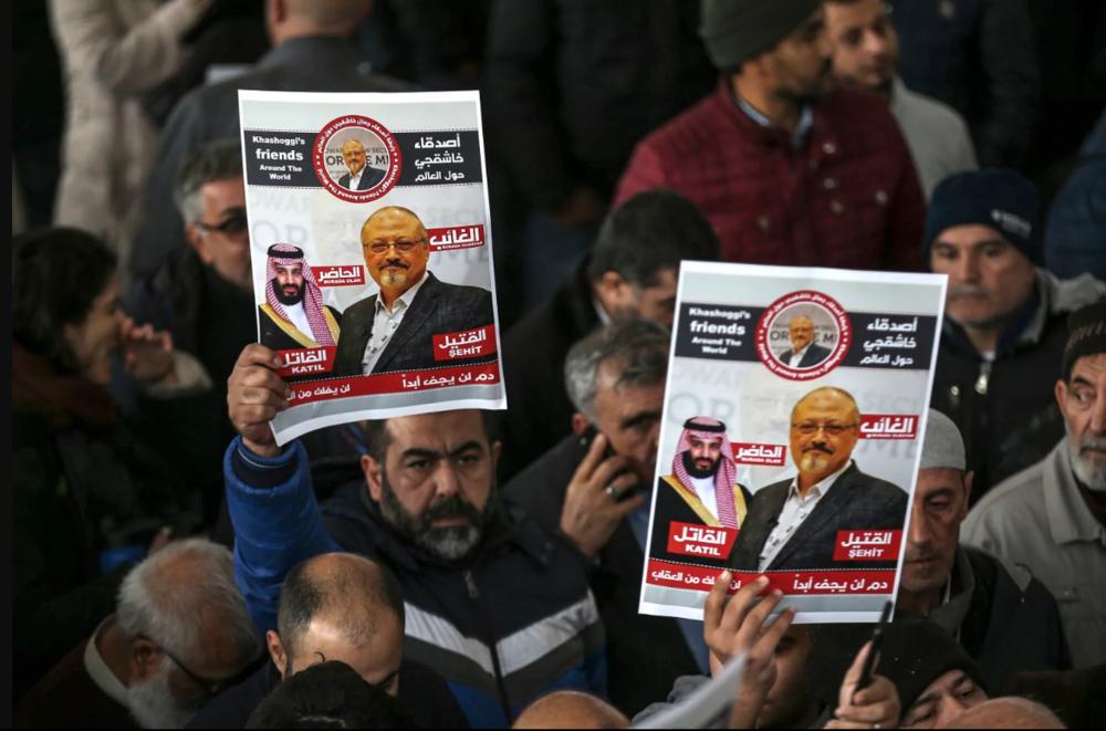 Jamal Khashoggi's death was a reminder of the dangers journalists across the world faced in 2018.  [Emrah Gurel/AP]