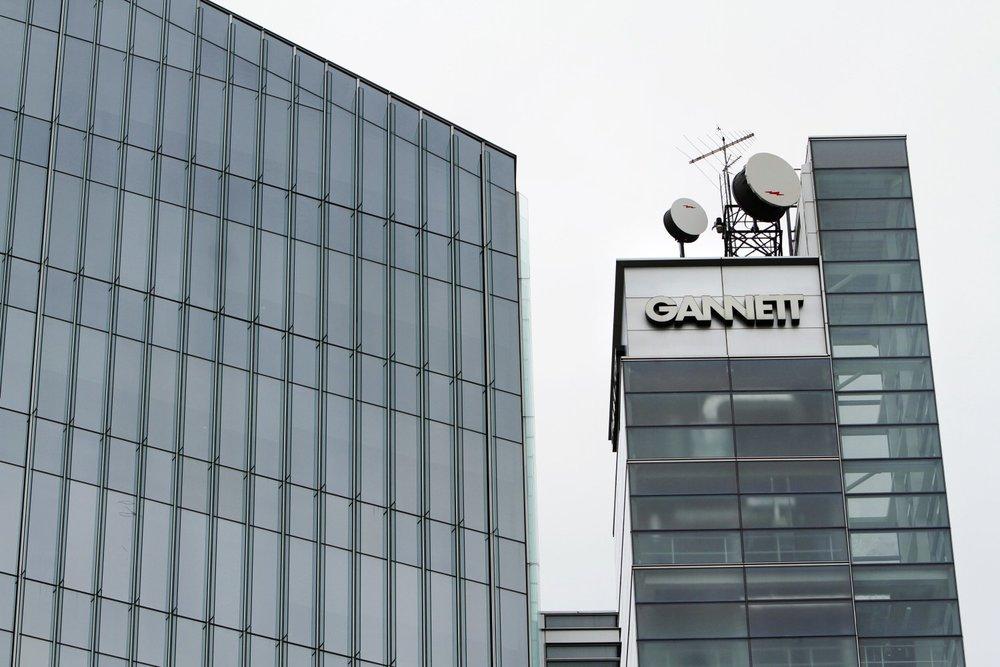 Gannett headquarters in McLean, Virginia.  [AP Photo/Jacquelyn Martin, file]
