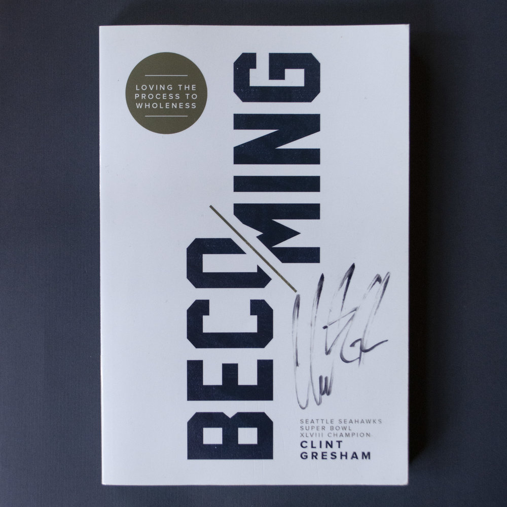 Becoming: Loving the Process to Wholeness - Clint Gresham - Clint Gresham is an author, speaker, and Superbowl-winning NFL player (Seattle Seahawks). For most of his life, Clint, like many if not most of us, experienced the world through the lens of outcomes: Academics. Behavior. Sports victories. Career. Relationships. Material success. The underlying message? When the outcomes are good, you are good. When the outcomes are bad, you are bad. Gresham's dynamic and insightful book, Becoming, unfolds a gripping and inspirational reality check, reminding us all that the point of life is not the destination, but the journey.Learn more on Clint's website: www.clintgresham.com