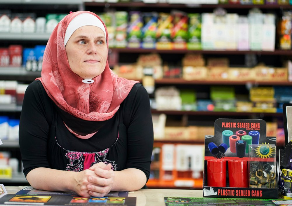 Amy Wazwaz inside her store in Duncanville, Tex. CreditCooper Neill for The New York Times