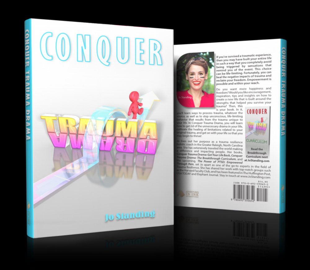Conquer Trauma Drama: Get Your Life Back (282 pages) Published in 2015.