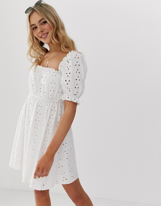 1. Little White Dress - This sweet and affordable dress is perfect for summer days. It's light and flowy and great for photos!Shop it here