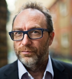 Jimmy Wales; Founder, Wikipedia
