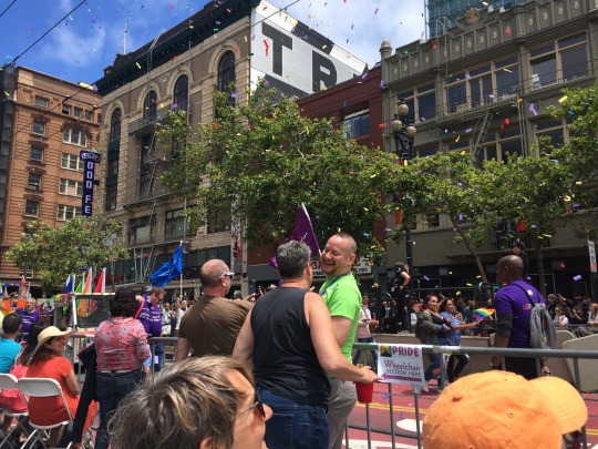 celebrations at San Francisco Pride, featuring over 200 floats this year