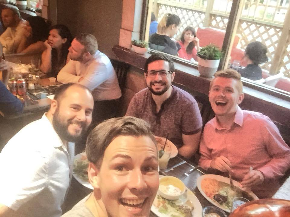 Getting Tex Mex with composers Steven, Jason and Sam