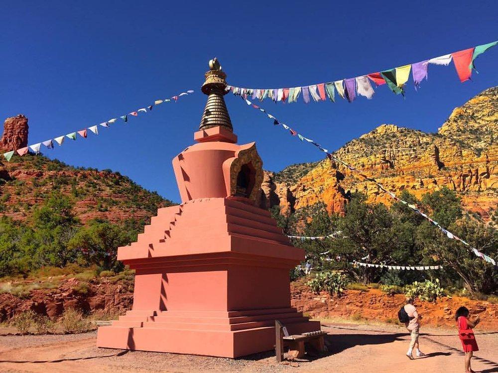 Amitabha Stupa at Sedona, Arizona