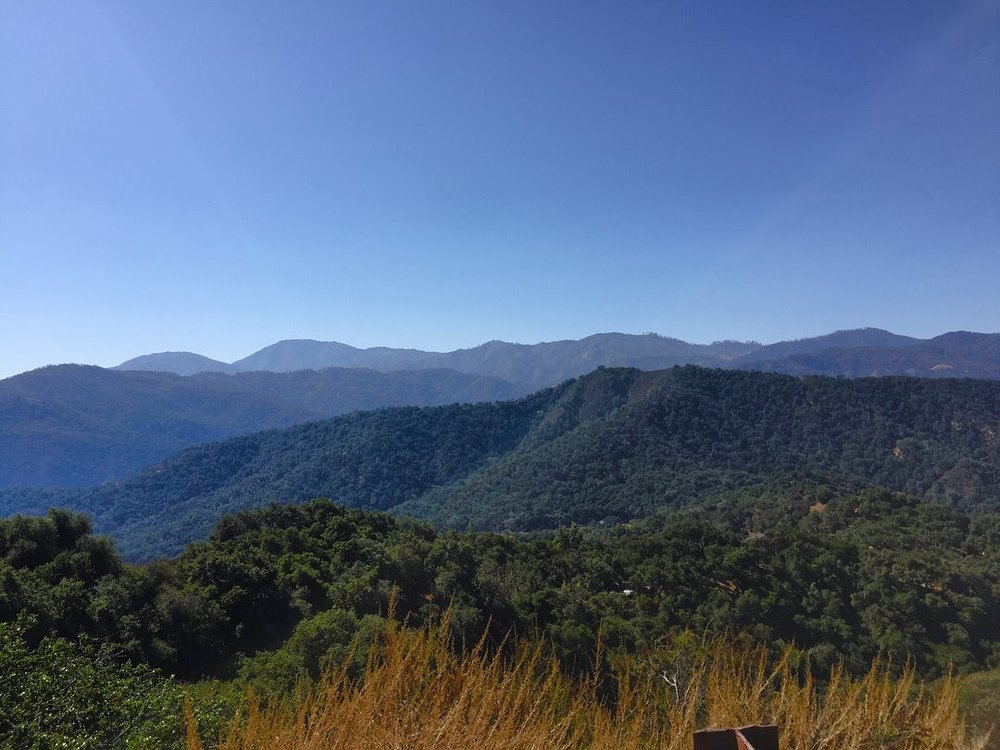 Cachagua Hills, as seen from Marco's cabin