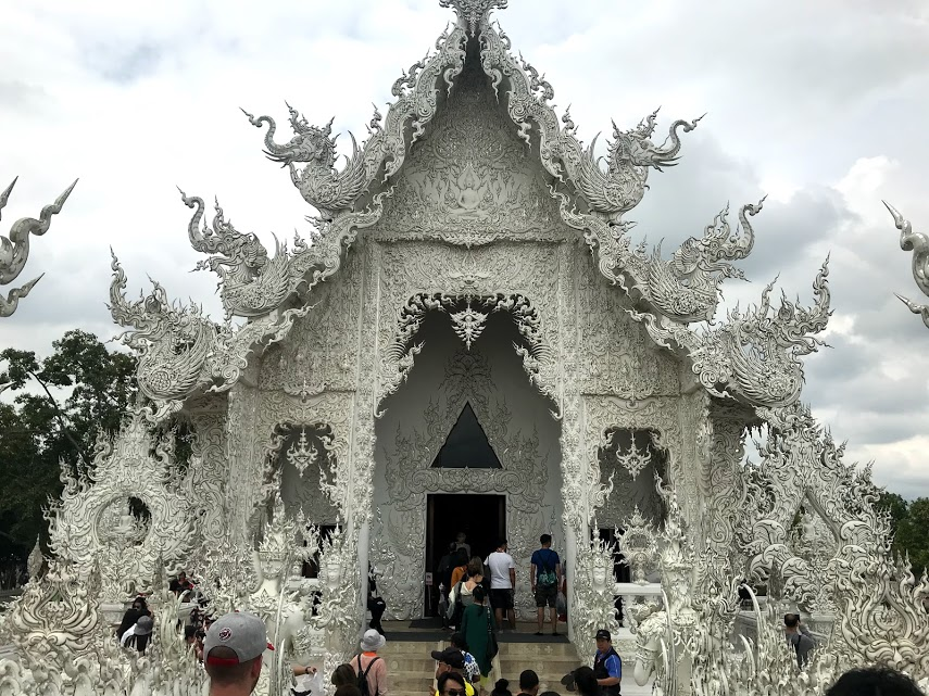 The ubosot at the White Temple.