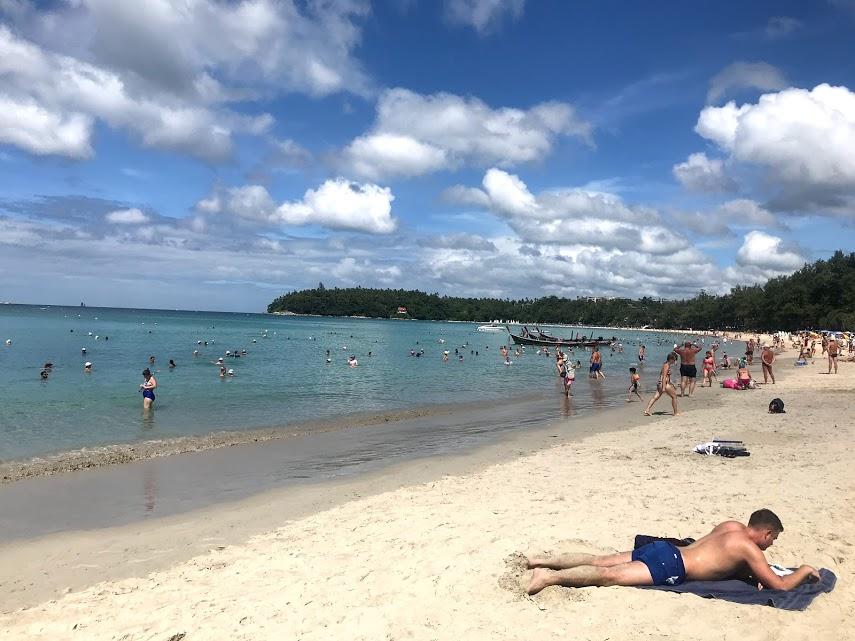 A beautiful day on Kata beach in Phuket.