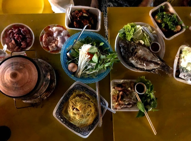 A feast of epic proportions at the Chiang Rai Night Bazaar.