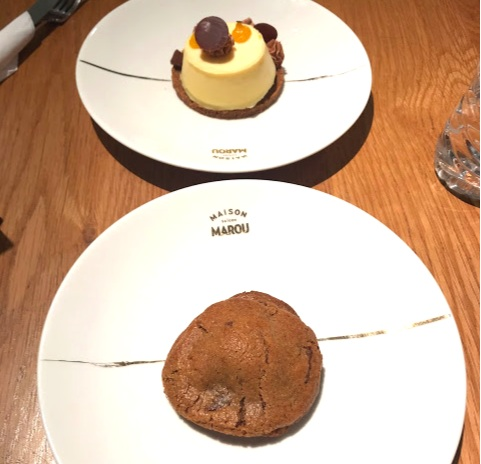 Treated ourselves to some fancy dessert at Marou Faiseurs de Chocolat!