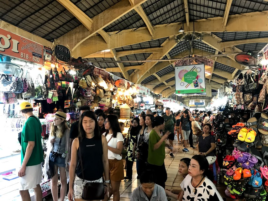 The Ben Thanh market, where we spent approximately 10 minutes.