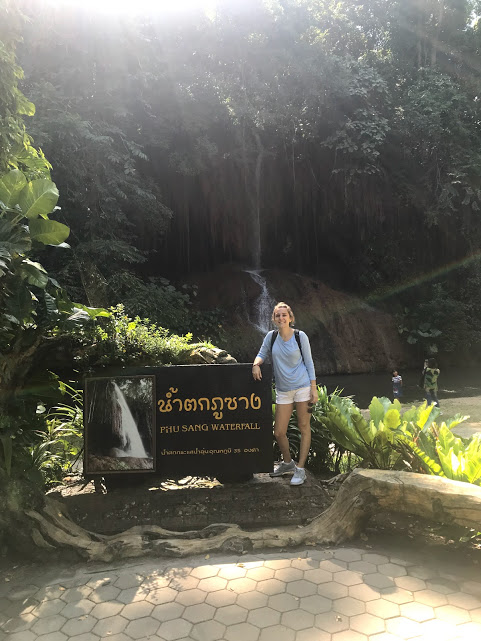 Our first field trip in Phu Sang! We visited the Phu Sang Waterfall during our first weekend here. Feels like a lifetime ago now!
