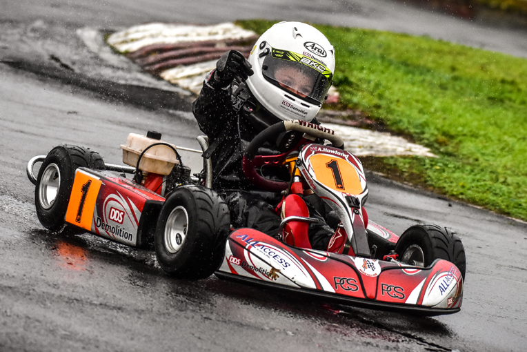COMER c50 - Congratulations to Alfie Howland, winner of the Bambino Kart Club Comer C50 Class for 2018, with a final point count of 755.Well done Alfie!