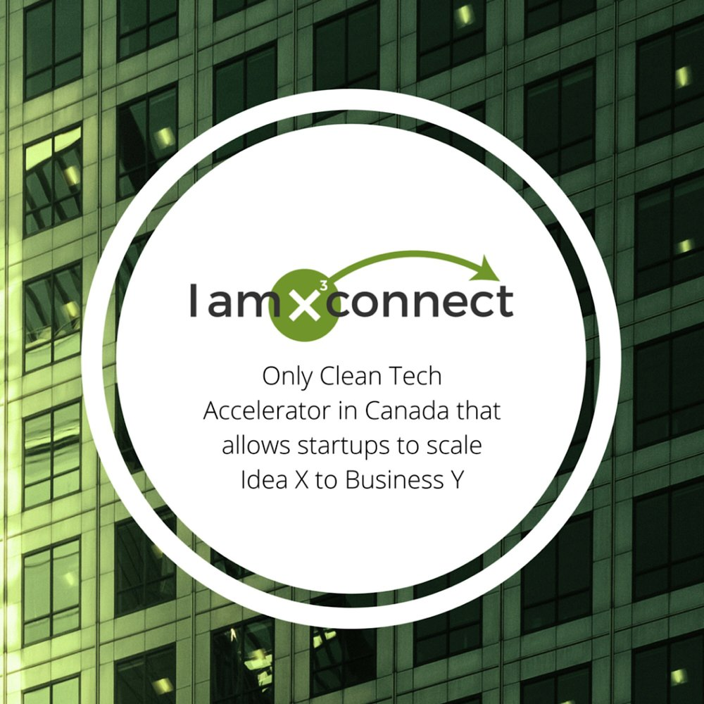 IamX Connect - Clean Tech accelerator opens in Mississauga, ON.