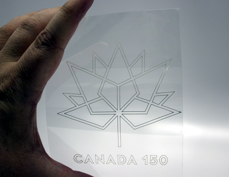Celebrating Canada150 - Using Silver Nanoparticle Ink