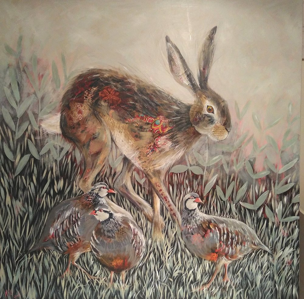 Hare and Partridge (sold)