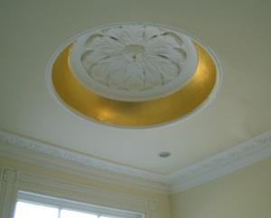 gold leaf coffer ceiling london arcitectual