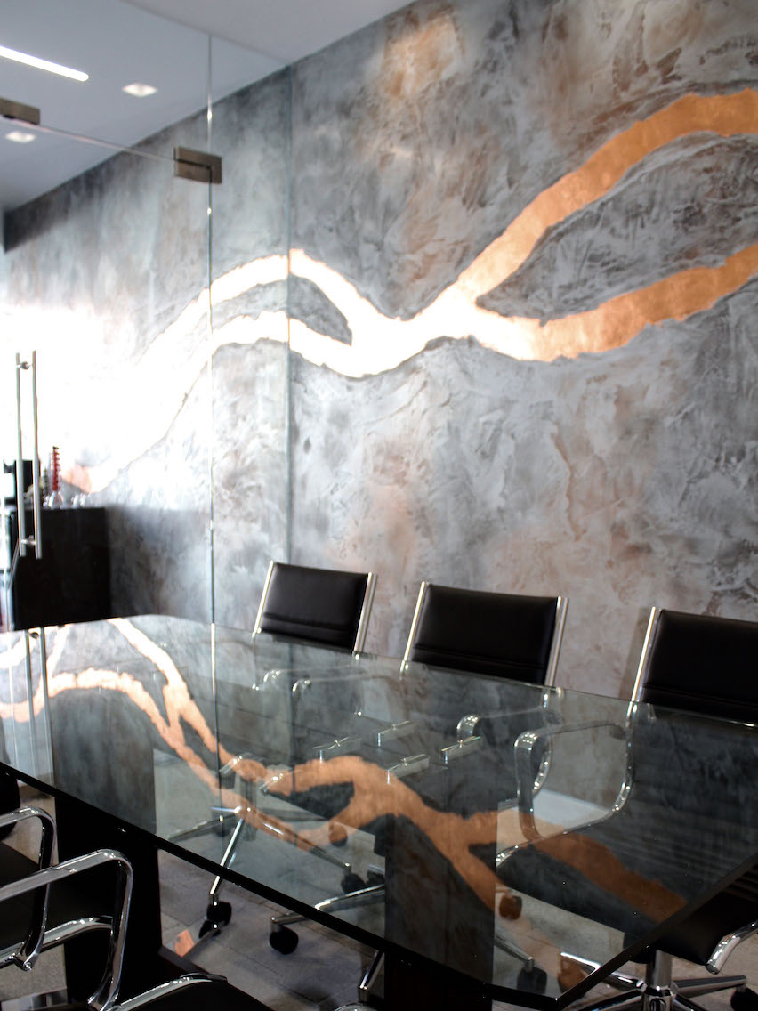 feature wall design bronze copper london .jpg