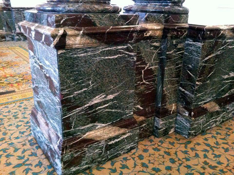 faux marble finish landmark hotel marylebone london bespoke renovation 2
