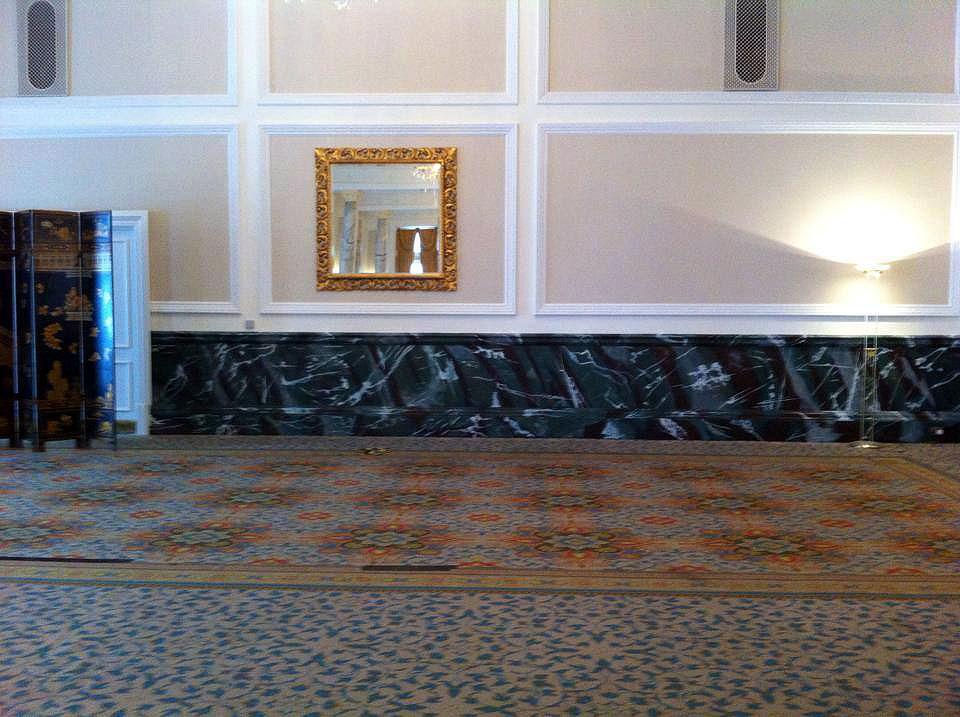 faux marble finish landmark hotel marylebone london bespoke renovation 3