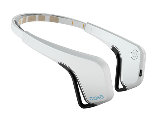 Image via InteraXon, the company behind the  Muse brain-sensing headband