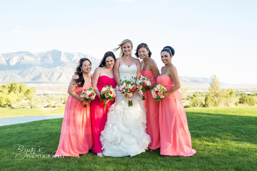 Bridesmaids - Bridesmaid's Hair & Makeup $125.00Gratuity (25%) $30.00Tax $9.45Total $159.45