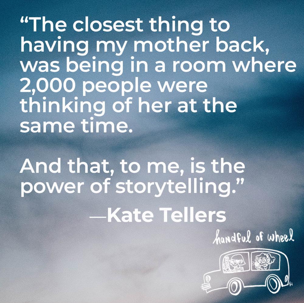 Handful of Wheel — Kate Tellers