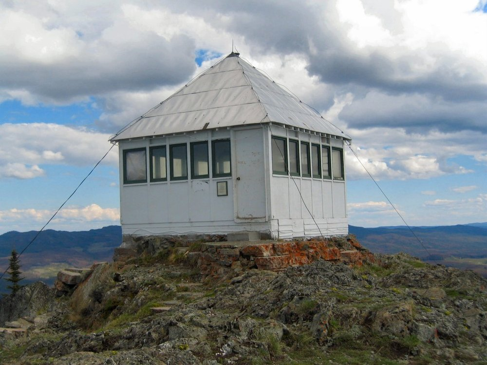 The Lookout on Greenstone Mountain