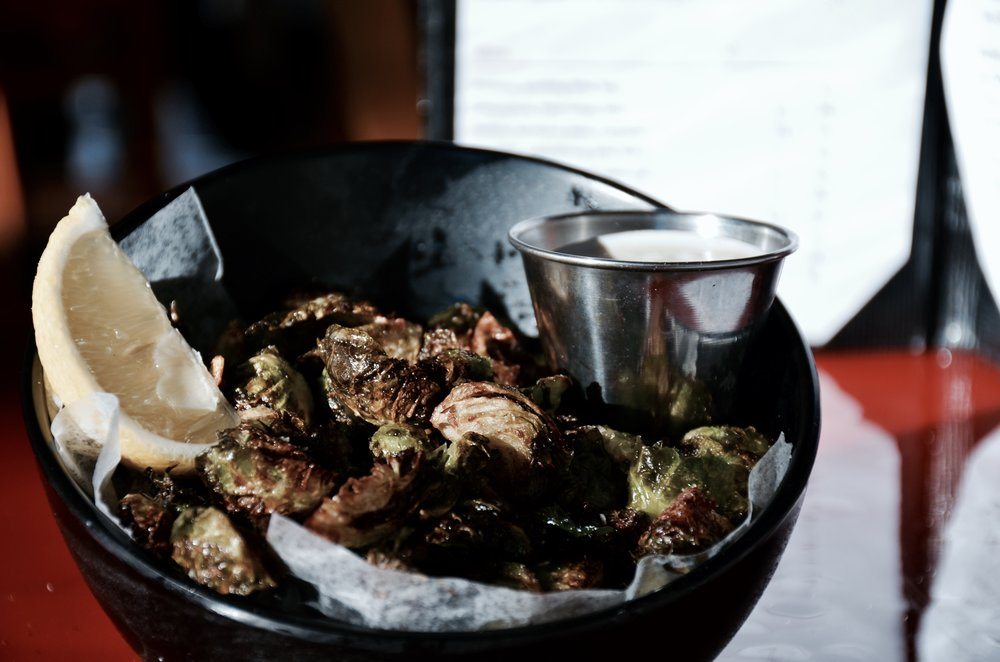 Copy of Fried Brussel Sprouts