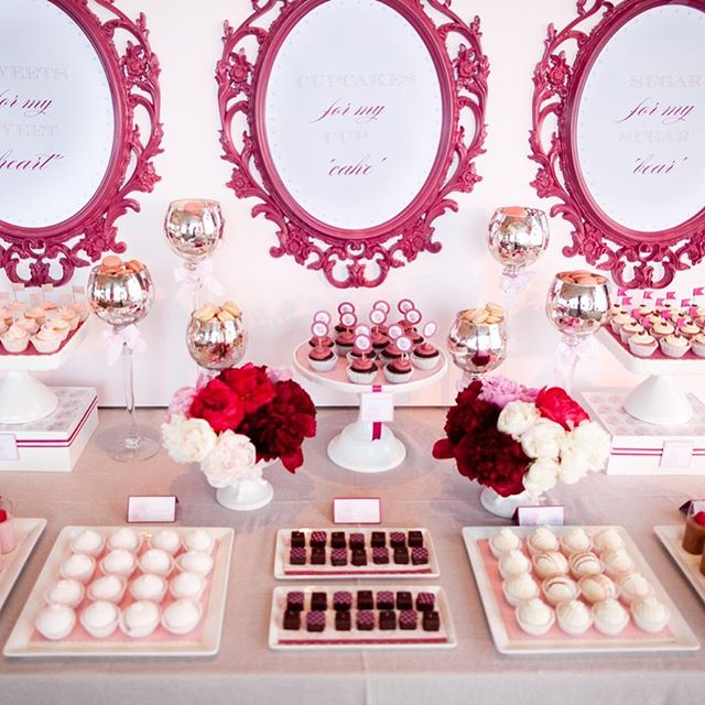 Did you get some sweets for your sweetie today?! I'll take a little of all of that! #valentinessweets #vdaysweets #sugarrush #houstonweddings #weddingsinhouston #sweetsformysweet #sarahainsworthphotography #houstonweddingphotographer #pinkandred #candytable #candybarideas #weddingcandybar