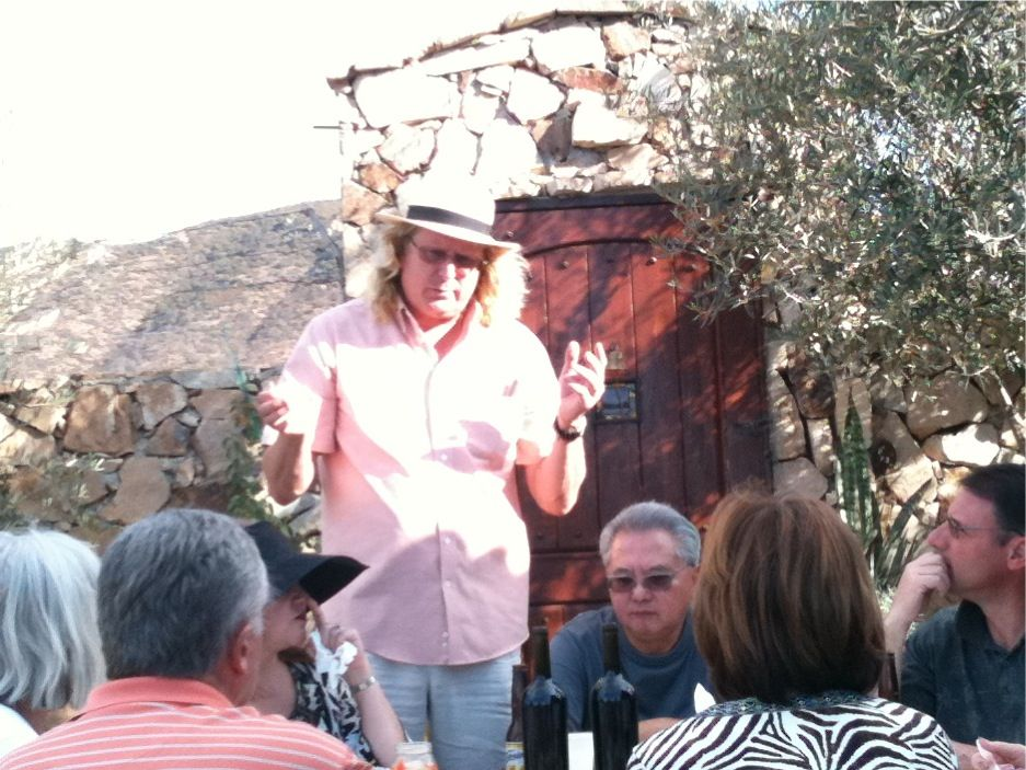 Winemaker Ray Magnussen of Lechuza Vineyards