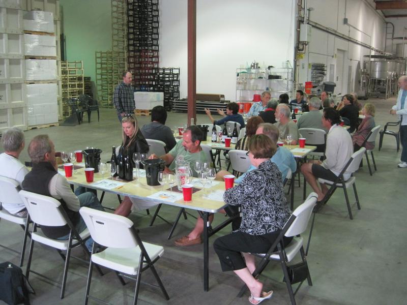 Pinot Noir clonal blending exercise at Siduri Winery