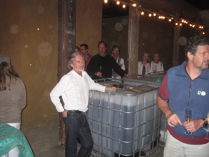 Winemaker Phil Gregory of Vena Cava at La Ville del Valle