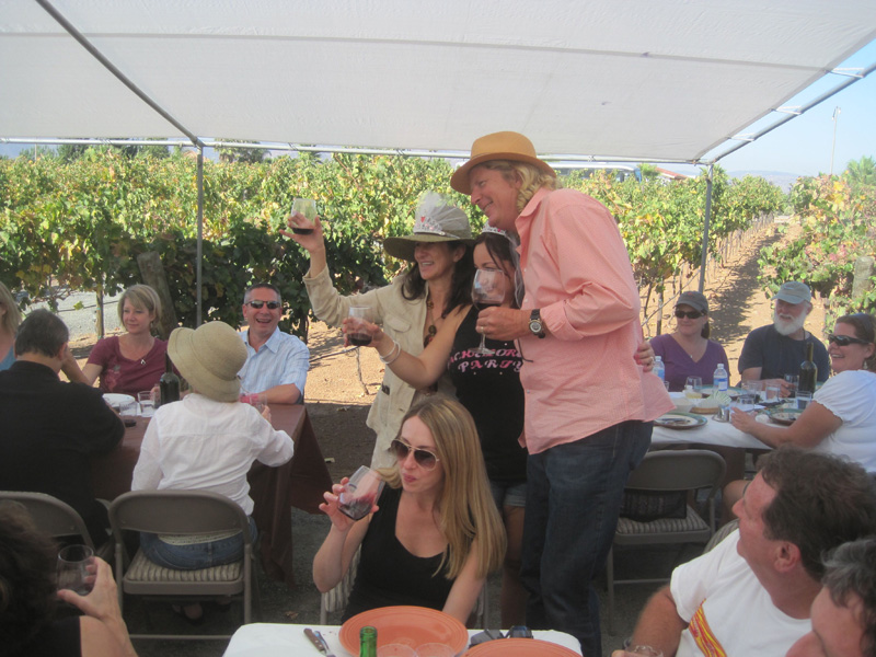 Ray and Patty Magnussen of Lechuza Vineyards